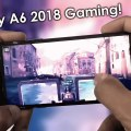 Samsung Galaxy A6 gaming
