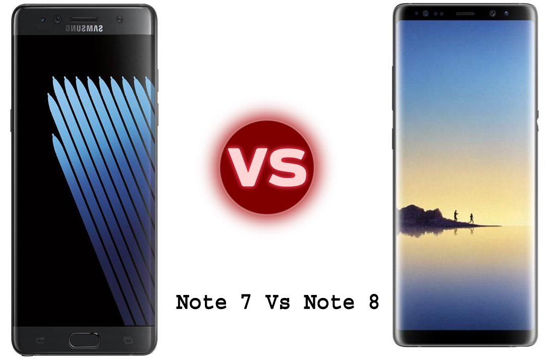 Photo of Samsung Galaxy Note 7 vs Note 8