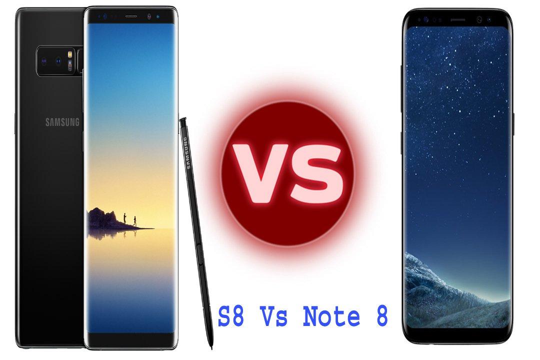 Photo of Samsung Galaxy S8 vs Note 8