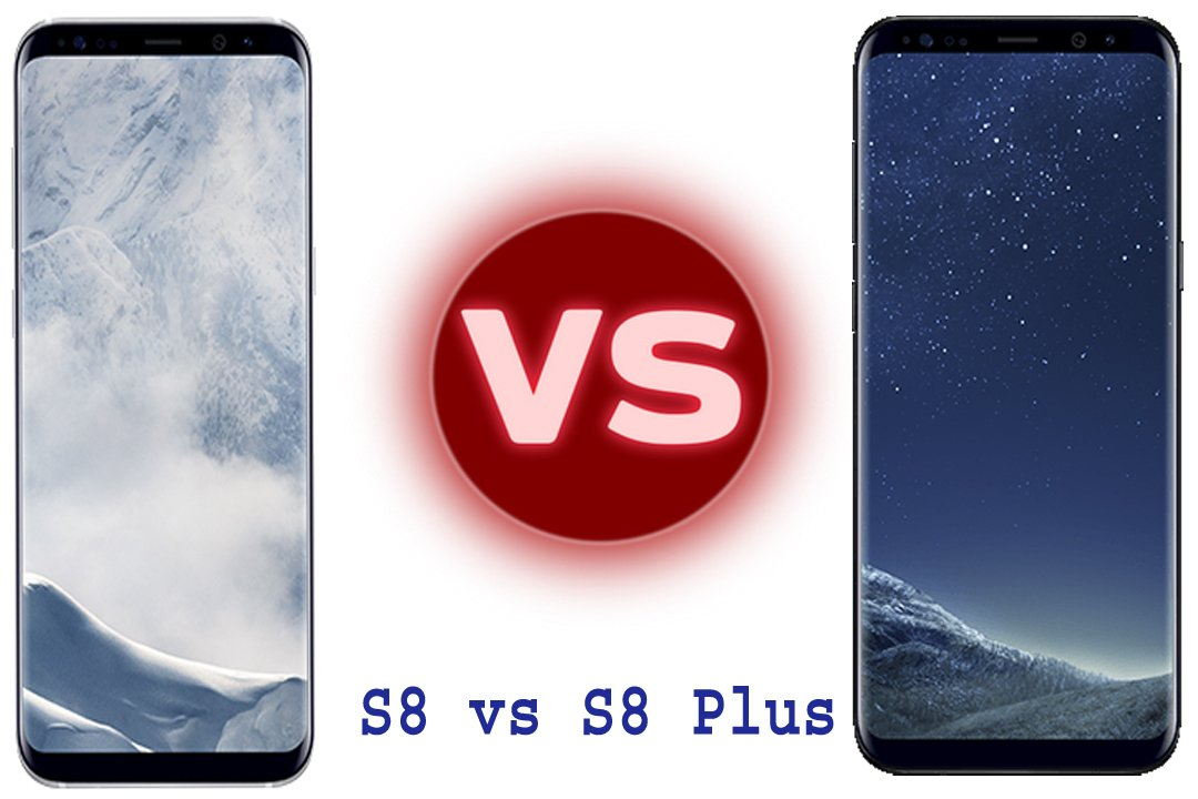 Photo of Samsung Galaxy S8 vs S8 plus