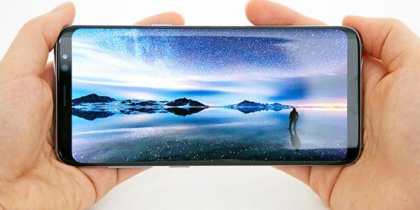samsung galaxy s8 plus camera view