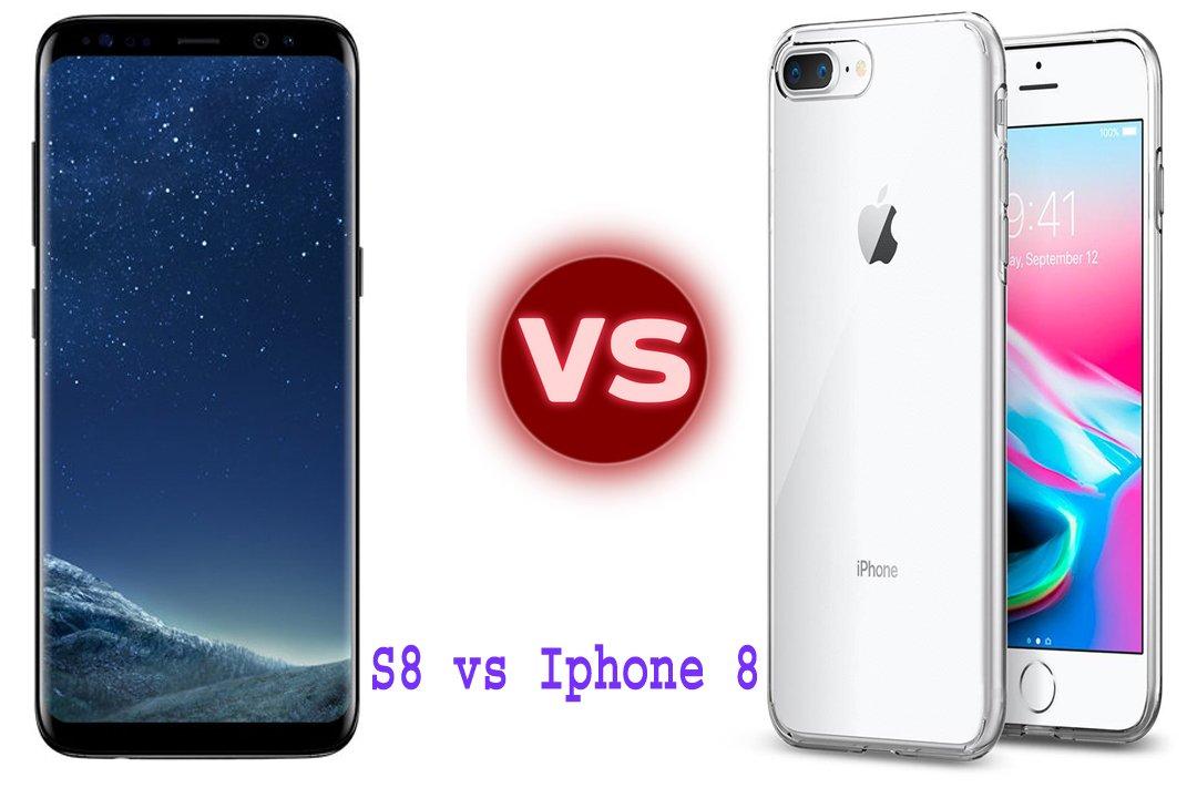 Photo of Samsung Galaxy S8 vs iPhone 8