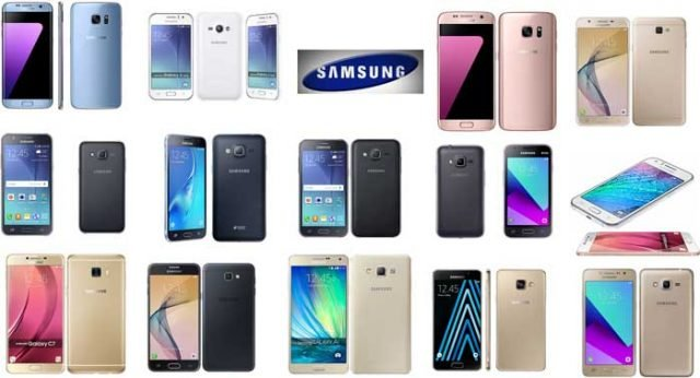 Samsung Galaxy Phone Generations