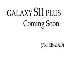 Samsung Galaxy S11 Plus Price & Specification
