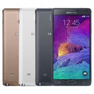 samsung galaxy note 4 colors