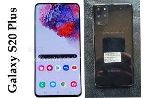 Galaxy S20 Plus Price in india