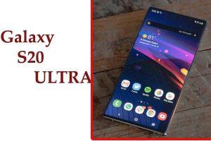 Galaxy S20 Ultra DEsign