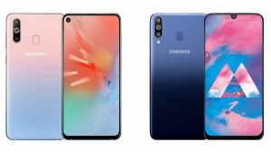 Samsung Galaxy A40s design