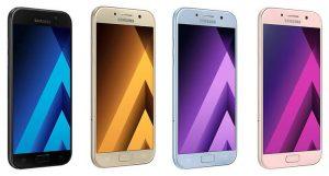 Samsung Galaxy A5 colors