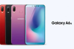 Samsung Galaxy A6S Design