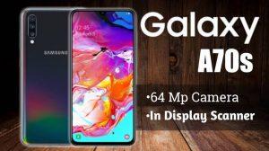 Samsung Galaxy A70s camera 2