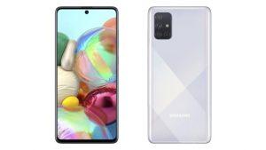 Samsung Galaxy A71 design