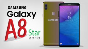 Samsung Galaxy A8 Star design