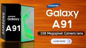 Samsung Galaxy A91 camera