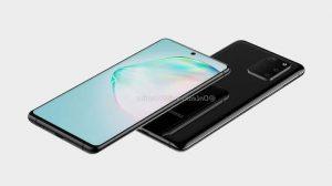 Samsung Galaxy A91 display