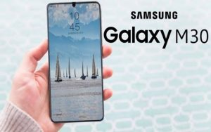 Samsung Galaxy M30 design
