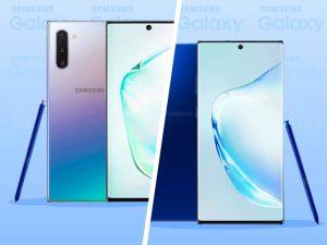 Samsung Galaxy Note 10 Plus Design
