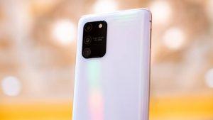 Samsung Galaxy S10 Lite camera