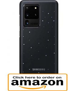 Galaxy S20 ultra led case