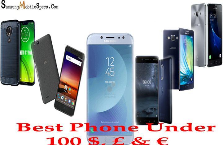 Best Phones under 100 dollars euros pounds