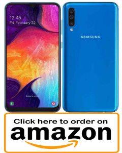 Samsung Galaxy A50 Best phone under 300 dollars