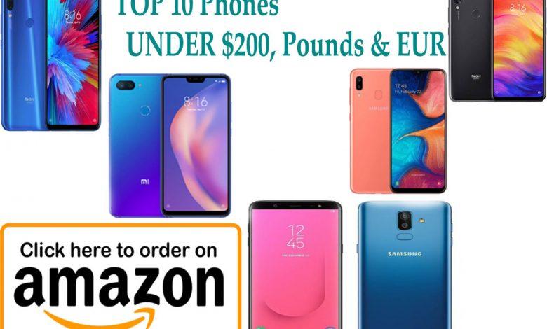 best phone under 200 dollars